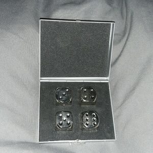 🎲4 Stainless Dice🎲